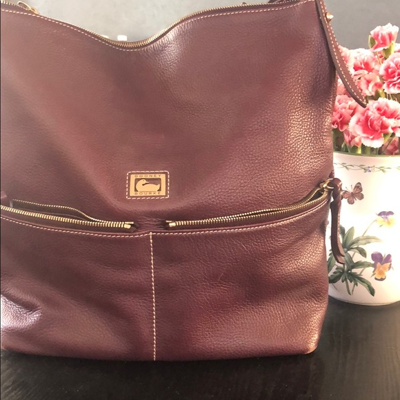 Dooney & Bourke Handbags - Shoulder bag with Chain to hold wallet